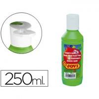 Tempera liquida jovi escolar 250 ml verde medio.