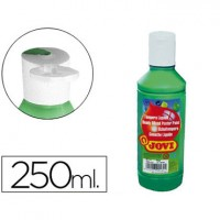 Tempera liquida jovi escolar 250 ml verde oscuro.