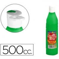 Tempera liquida jovi escolar 500 ml verde medio.