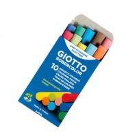 Tiza color antipolvo robercolor -caja de 10 unidades