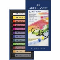 Tiza Pastel Blando Faber Castell 12 colores