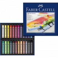 Tiza Pastel Blando Faber Castell 24 colores